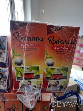 Чай Rodzinna чорний