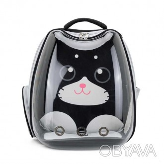 Рюкзак-переноска для кошек Taotaopets 256604 Panoramic Cats