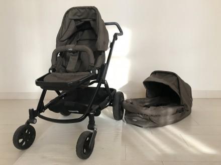 Универсальная коляска 2-в-1 Britax Go Next в отличном состоянии. Цвет: brown me. Чернігів, Черниговская область. фото 3