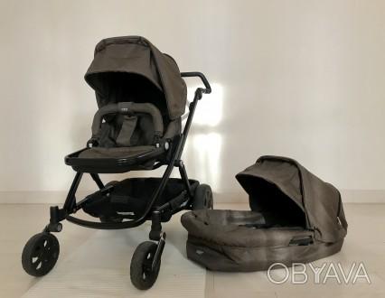 Универсальная коляска 2-в-1 Britax Go Next в отличном состоянии. Цвет: brown me. Чернігів, Черниговская область. фото 1