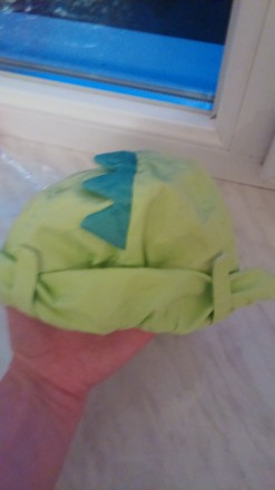 Суперская, новая, яркая кепочка-дракончик фирмы Blukids. Сзади можно опустить тк. Запорожье, Запорожская область. фото 7