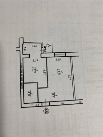 1 - 2 комнатная квартира ЖК Днепропетровская Брама 2  Секция - 2. Введена в эк. Золотые ключи, Днепр, Днепропетровская область. фото 12