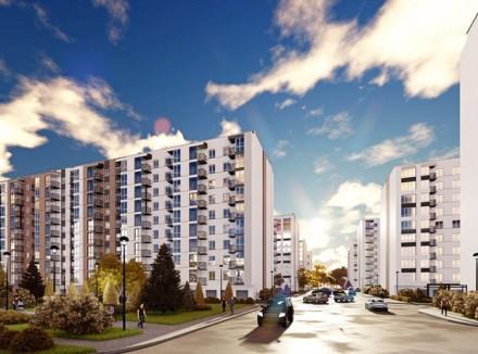 1 - 2 комнатная квартира ЖК Днепропетровская Брама 2  Секция - 2. Введена в эк. Золотые ключи, Днепр, Днепропетровская область. фото 14