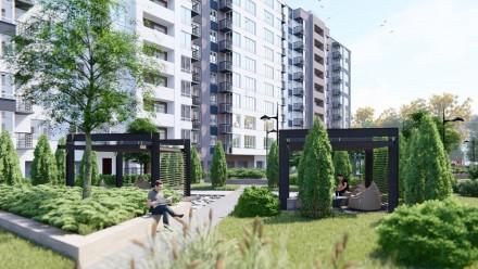 1 - 2 комнатная квартира ЖК Днепропетровская Брама 2  Секция - 2. Введена в эк. Золотые ключи, Днепр, Днепропетровская область. фото 3