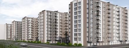 1 - 2 комнатная квартира ЖК Днепропетровская Брама 2  Секция - 2. Введена в эк. Золотые ключи, Днепр, Днепропетровская область. фото 4