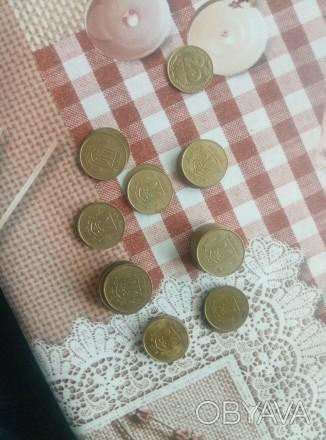 Продам монеты 25 коп