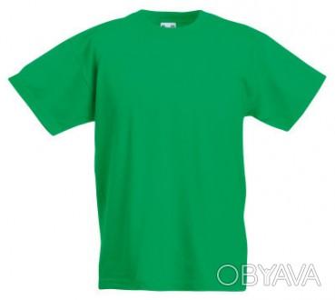 Детская футболка от 3 до 15 лет Fruit of the loom Kids ярко-зеленый, 5-6