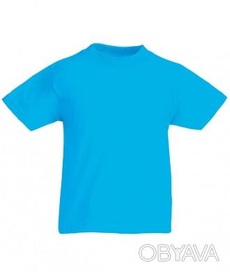 Детская футболка от 3 до 15 лет Fruit of the loom Kids ультрамарин, 9-11