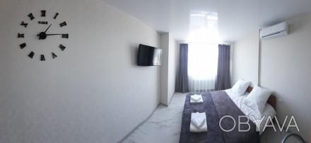 Новая квартира  (2021 г.)  1-й! сезон тип-АПАРТАМЕНТЫ - 2-х сп. кровать + 1 до. Поселок Котовского, Одесса, Одесская область. фото 1