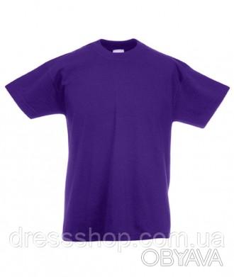 Детская футболка от 3 до 15 лет Fruit of the loom Kids фиолет, 14-15