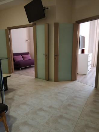 Красивая двухкомнатная квартира с видом на море Французский бульвар 22.Большая к. Приморский, Одесса, Одесская область. фото 11