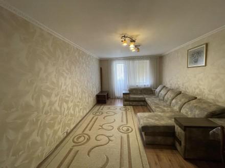Квартира з хорошим ремонтом, індивідуальне опалення, є всі необхідні для прожива. Центр, Тернопіль, Тернопільська область. фото 2