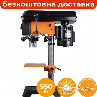 Свердлильний верстат з варіатором WorkMan DP10VL2 з лазерним маркером