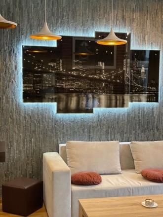 Продажа квартиры жк Риверстоун и 51.6м2, вид на Днепр -ремонт в стиле Лофт -отде. Позняки, Киев, Киевская область. фото 5