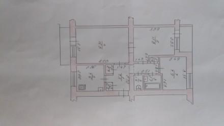квартира на пр Соборності в цегляному будинку, не кутова, можливий обмін на 2 кв. 33 микрорайон, Луцк, Волынская область. фото 13