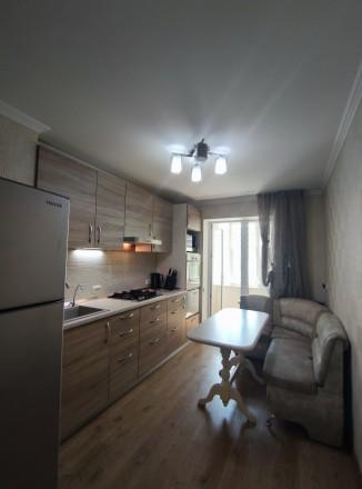 Первая сдача! Просторная, свежая, чистая квартира с евроремонтом, мебелью и тех. Малиновский, Одесса, Одесская область. фото 4