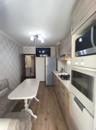 Первая сдача! Просторная, свежая, чистая квартира с евроремонтом, мебелью и тех. Малиновский, Одесса, Одесская область. фото 3