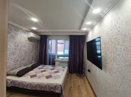 Первая сдача! Просторная, свежая, чистая квартира с евроремонтом, мебелью и тех. Малиновский, Одесса, Одесская область. фото 5