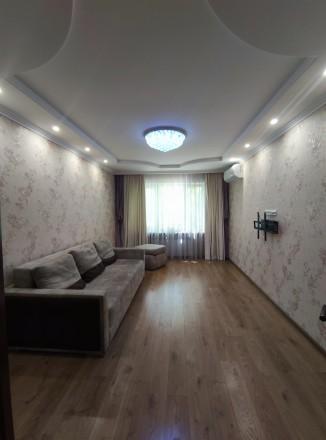 Первая сдача! Просторная, свежая, чистая квартира с евроремонтом, мебелью и тех. Малиновский, Одесса, Одесская область. фото 6