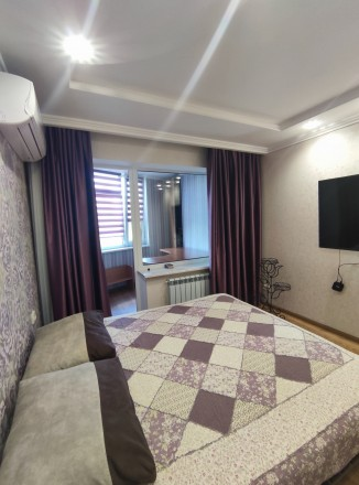 Первая сдача! Просторная, свежая, чистая квартира с евроремонтом, мебелью и тех. Малиновский, Одесса, Одесская область. фото 10
