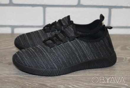 Женские текстильные кроссовки, размеры: 36-41