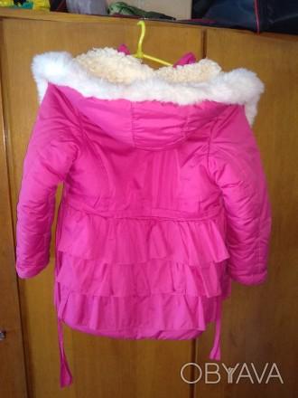 Продам очень тёплую курточку для девочки