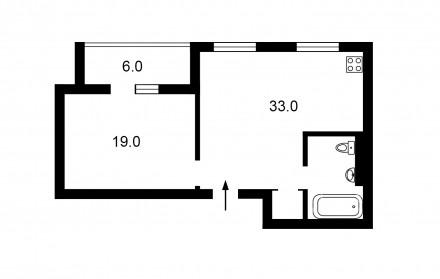 Предлагаю Вашему вниманию квартиру с качественным дизайнерским ремонтом. После р. Соломенка, Киев, Киевская область. фото 10