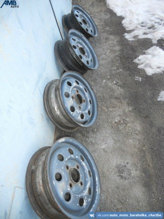 Диски  Артикул : —- Фирма : Ford Диаметр R13 Разболтовка - 4 х 108 Ши. Новоайдар, Луганская область. фото 3