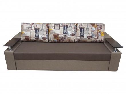 * Прямой диван Миллениум это стильное украшение вашей комнаты. Механизм «. Черкассы, Черкасская область. фото 3