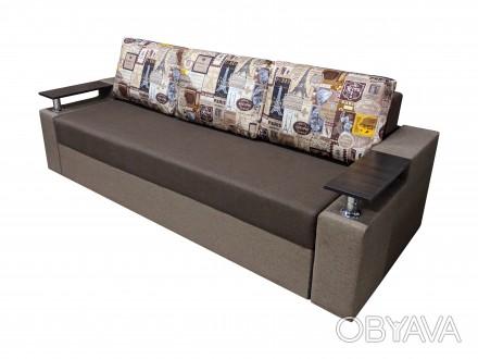 * Прямой диван Миллениум это стильное украшение вашей комнаты. Механизм «. Черкассы, Черкасская область. фото 1