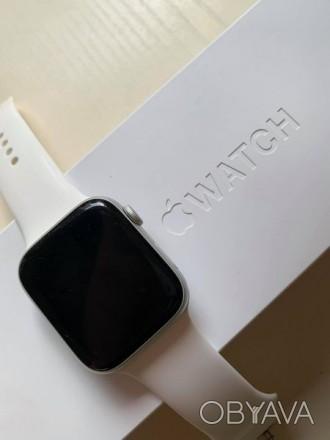 Продам свои часики. Apple watch 5 44mm. Состояние и внешний вид 9/10 (есть небол. Чернигов, Черниговская область. фото 1