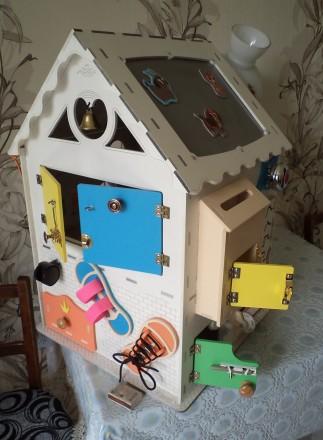 Развивающий домик (бизидом) – многофункциональная развивающая игрушка для . Запорожье, Запорожская область. фото 7
