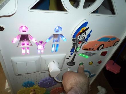 Развивающий домик (бизидом) – многофункциональная развивающая игрушка для . Запорожье, Запорожская область. фото 11