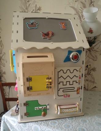 Развивающий домик (бизидом) – многофункциональная развивающая игрушка для . Запорожье, Запорожская область. фото 8