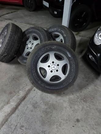 Диски R16  Мерседес гелендваген  - 4 шт - 10000 грн. Mercedes g  gelandewagen - . Киев, Киевская область. фото 4
