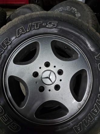 Диски R16  Мерседес гелендваген  - 4 шт - 10000 грн. Mercedes g  gelandewagen - . Киев, Киевская область. фото 3