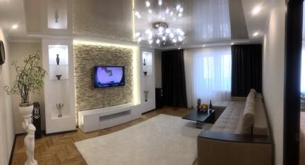 Отличная квартира с качественным ремонтом, хорошей мебелью и техникой. Квартира. Сухой фонтан, Николаев, Николаевская область. фото 2
