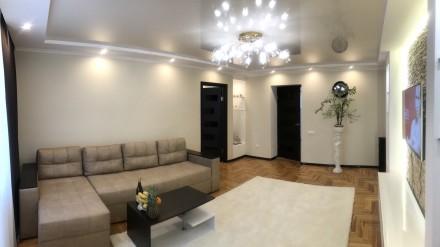 Отличная квартира с качественным ремонтом, хорошей мебелью и техникой. Квартира. Сухой фонтан, Николаев, Николаевская область. фото 3