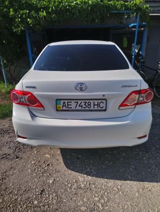 Продам авто Toyota Corolla, выпуск ноябрь 2012 года, была куплена в автосалоне Д. Верхнеднепровск, Днепропетровская область. фото 4