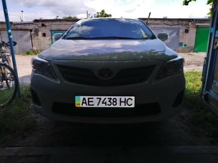 Продам авто Toyota Corolla, выпуск ноябрь 2012 года, была куплена в автосалоне Д. Верхнеднепровск, Днепропетровская область. фото 3