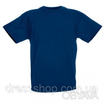 Детская футболка от 3 до 15 лет Fruit of the loom Kids темно-синий, 12-13