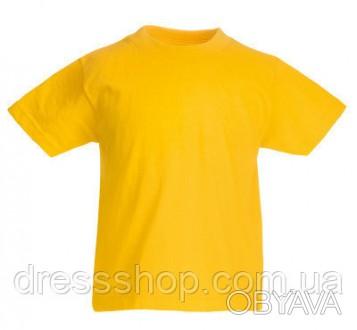 Детская футболка от 3 до 15 лет Fruit of the loom Kids солнечно-желтый, 3-4