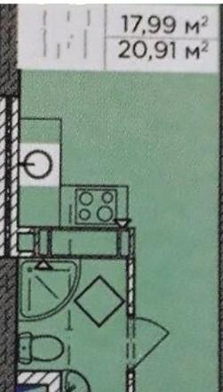 Продам смарт квартиру в строительном состоянии.10минут  к метро м.Бориспольская.. Киев, Киевская область. фото 3