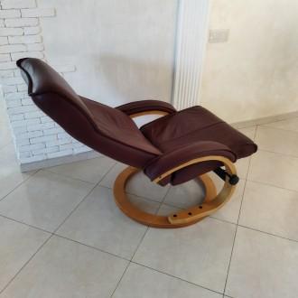 Крісло для відпочинку - реклайнер. Крісло комфортне розкладне, в гарному стані.. Львов, Львовская область. фото 10