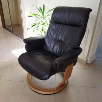 Крісло для відпочинку - релаксу. Крісло комфортне розкладне, в доброму стані. . Львов, Львовская область. фото 2