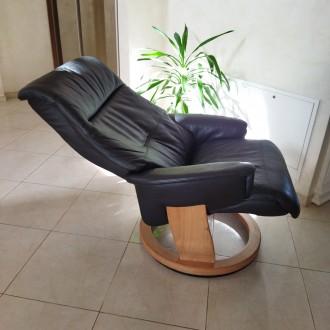 Крісло для відпочинку - релаксу. Крісло комфортне розкладне, в доброму стані. . Львов, Львовская область. фото 10