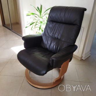 Крісло для відпочинку - релаксу. Крісло комфортне розкладне, в доброму стані. . Львов, Львовская область. фото 1