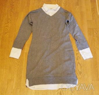 Платье рубашка 44 размера