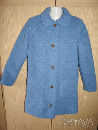 George голубая шубка-тедди teddy на девочку 11-12 лет рост 146-152 см