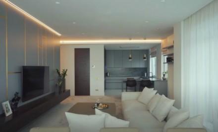 Просторная 2-комнатная квартира выполнена в современном стиле и расположена на 1. Приморский, Одесса, Одесская область. фото 5